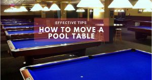 move pool table