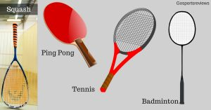 Table Tennis different from other Racquet Sports