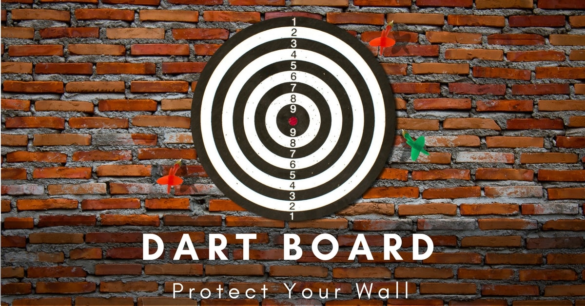 What To Put Behind Dart Board To Protect Wall: Few Interesting Ideas