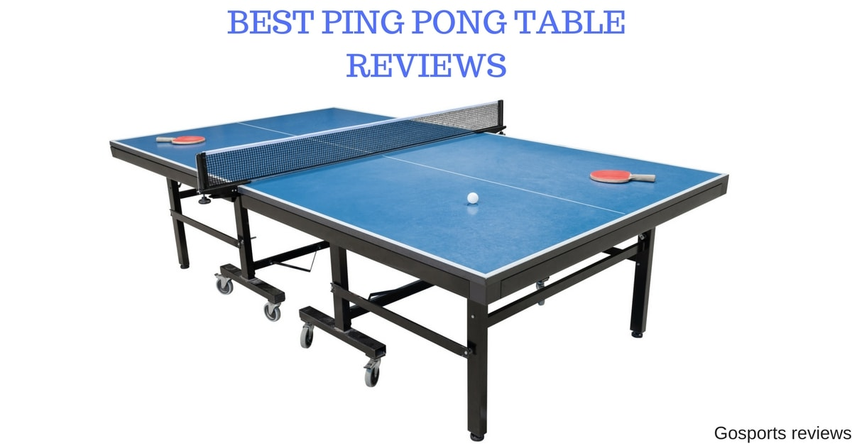 Great Best Ping Pong Table For 2018: Top Rated Ping Pong Table For The Money
