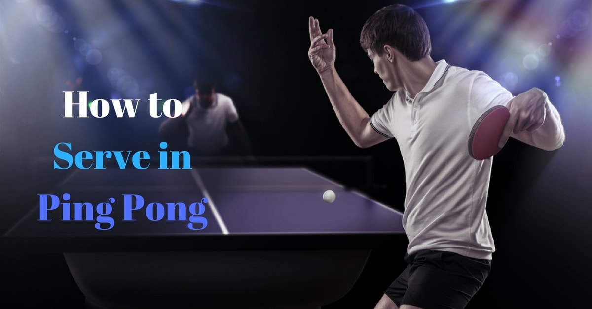 How to Serve in Ping Pong: Here's How You Can Do It Right!
