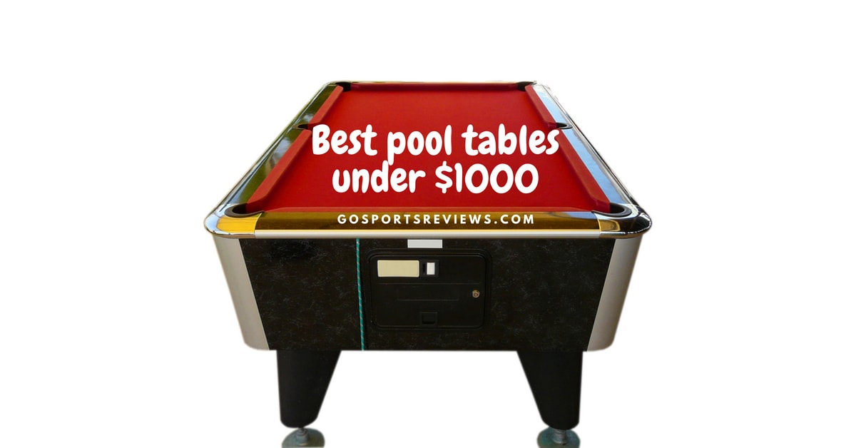 Best Pool Tables Under In As Recommended By Experts - Red top pool table