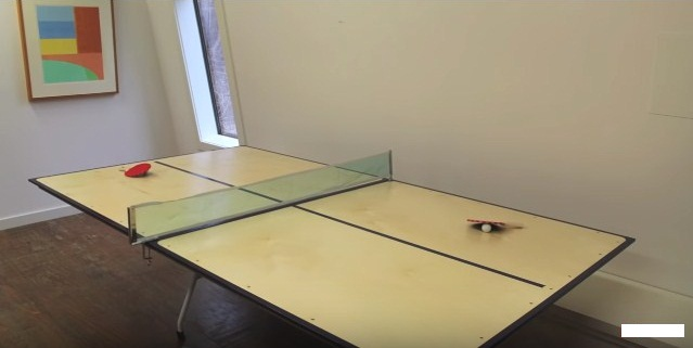 how to make a ping pong tables